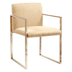 Gorgeous! Though, I'd never pay $500+ dollars for a dining chair. O_O < Brownstone Verona Dining Chair Fabric @Zinc_Door