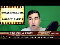 Oregon Ducks vs. Holy Cross Crusaders Pick Prediction College Basketball...