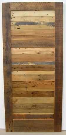 sliding barn door this is a part of signature woods mismatched