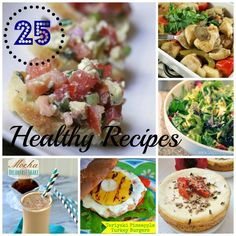 25 Healthy Recipes (Start the New Year off Right) - Short Cut Saver