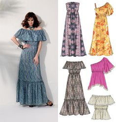 McCall's Misses'/Women's Tops and Dresses 6558