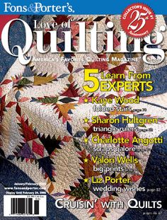 - Love of Quilting January/February 2006 Digital Issue