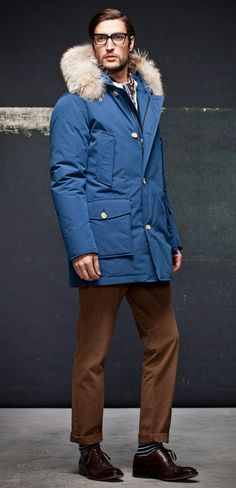 WOOLRICH BYRD CLOTH ARTIC PARKA