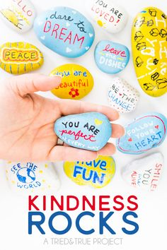 Christian Painted Rocks   Kindness Rocks Project with Kids! - Tried & True