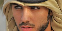 Omar Borkan Al Gala. I've always thought that Arab and Middle Eastern men are some of the most handsome in the world...