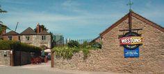 Weston's Cider Mill, shop & visitor centre