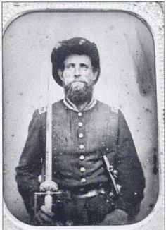 1st Lt. James Wofford of the 40th Ga. KIA at Kennesaw Mountain by an artillery shell