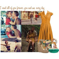 """The Notebook-Noah and Allie"" by nina-or-not on Polyvore"