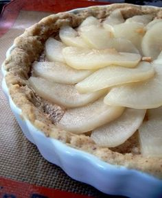 French Pear Tart {Dorie Greenspan TWD} this tart is really good, love it!