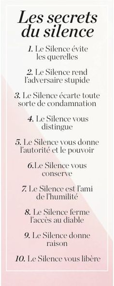 Le Silence est d& Silence is golden The post Silence is golden appeared first on Gastronomy and Culinary. Citation Silence, Silence Quotes, Quote Citation, Positive Attitude, Positive Vibes, Burn Out, French Quotes, Positive Affirmations, Decir No