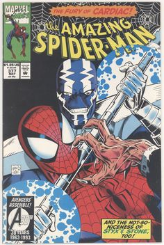 Title: Amazing Spider-Man | Year: 1963 | Publisher: Marvel | Number: 377 | Print: 1 | Type: Regular | TitleId: bba0d660-be80-4eaa-888f-48e95a3afb72