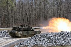 M1 Abrams Tank Firing Three major variations of the M1 Abrams have actually been deployed, the M1, M1A1, and M1A2, incorporating improved armament, defense and electronic devices. These enhancements and other upgrades to in-service tanks, have enabled this long-serving vehicle to stay in front-line service. In addition, advancement for the improved M1A3 version has actually been understood given that 2009.