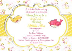 203 Best Baby Shower Invitation Card Images Invitations Baby