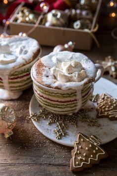 Vanilla Mocha Hot Cocoa - cakes and more - Dessert Hot Cocoa Recipe, Cocoa Recipes, Hot Chocolate Recipes, Vegetarian Chocolate, Thm Recipes, Bakery Recipes, Vegan Chocolate, Drink Recipes, Vegan Vegetarian