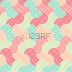 abstract retro seamless graphic pattern Stock Vector