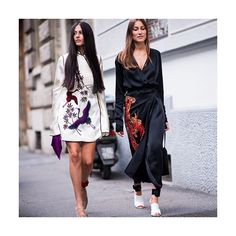 COOL CUFFS: #Attico designers and street-style stars #GiorgiaTordini and #GildaAmbrosio are always a stylish step ahead. We love the ankle cuffs theyve conjured for the second outing of their label. Pair the statement satin and velvet straps with your favorite footwear to add a vivid flash to muted looks. #THEEDIT. Swipe left to see more. Search @the_attico to shop at #NETAPORTER. #SeeItBuyItLoveIt Photographed by the @urbanspotter exclusively for NET-A-PORTER.  via NET-A-PORTER MAGAZINE…