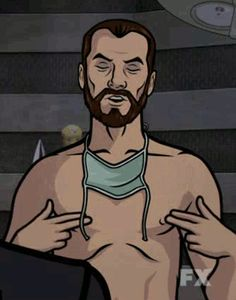 MRW the Cleveland Indians forced extra innings in Game 2 playoffs. Archer Funny, Archer Meme, Archer Tv Show, Archer Quotes, Cartoon Junkie, Sterling Archer, Funny Cartoons, Funny Posters, Funny Humor