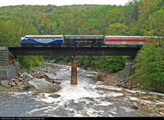 RailPictures.Net Photo: WVC 1301 West Virginia Central Railroad EMD F7(A) at Unknown, West Virginia by Nick McLean