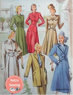 The Haslam System of Dressmaking No. 19 1940's  PDF