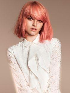 Sugar Pop pink flamingo coloured hair