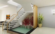 Under Stair Garden Ideas