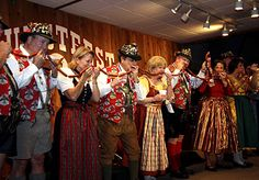"The annual ""biting of the sausage"" kicks off Wurstfest, an annual German festival held in New Braunfels, Texas."