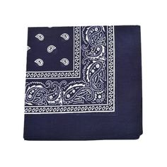 Mechaly Paisley 100% Cotton Blue Vegan Bandanas