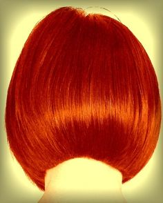 love the color. Finally a hair style that resembles the 60's Sassoon swing style!