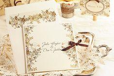 Ideas para invitaciones de boda de estilo vintage.