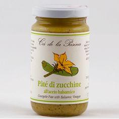 Pâté di zucchine. Scopri e prova tutti gli altri pâté su: www.demarca.it