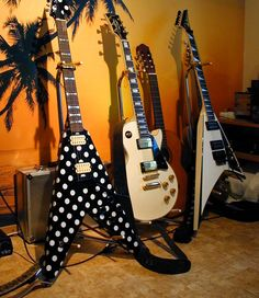 Randy Rhoads's Guitars.