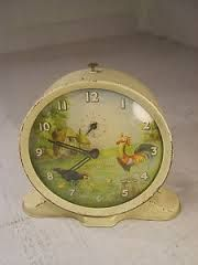 rooster alarm clock vintage - Google Search