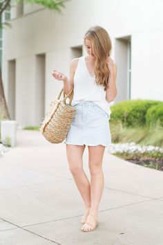 The Perfect Denim Skirt By Lonestar Southern
