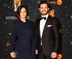 Princess Sofia and Prince Carl Philip attended the Swedish Sport Gala on Monday, 25th of January 2016