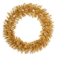 Hang the Vickerman Gold Glitter Cashmere Pre-lit Wreath in any room of your home to spread your Christmas cheer. This dazzling, golden pre-lit Christmas. Pre Lit Wreath, Christmas Wreaths With Lights, Artificial Christmas Wreaths, Christmas Colors, Holiday Wreaths, Cashmere Christmas Tree, Home Office Furniture Sets, Gold Tips, Aleta