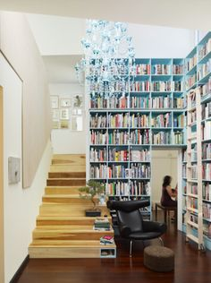 I would love this many bookshelves, I'm pretty close to having this many books!
