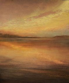 "Saatchi Art Artist Maurice Sapiro; Painting, ""Cumulus Reflected"" #art"