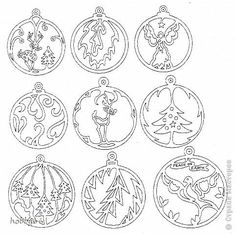 stencils on the window to the new year 2016 cut from paper: 18 thousand images found in Yandex. Christmas Ornament Template, Ornament Crafts, Xmas Ornaments, Christmas Baubles, Christmas Stencils, Christmas Projects, Kirigami, Christmas Makes, Christmas Crafts