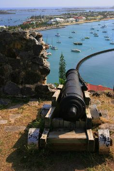 Fort St. Louis above Marigot Bay - St. Martin