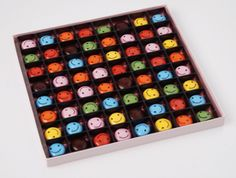 Smiley face chocolate by Enfant