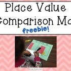 I used this mat during my math small group time.  We had been learning about place value and my students were very familiar with building numbers using tens and ones.
