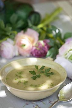 Vichyssoise súper ligera - Always in Health Health Magazine, Fajitas, Carne, Cheeseburger Chowder, Detox, Dinner Recipes, Lose Weight, Nutrition, Lunch