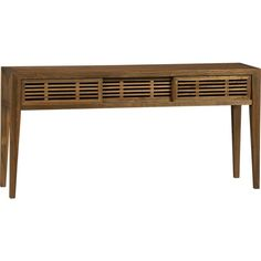 Marin Console Table in All Sale | Crate and Barrel - $799.95