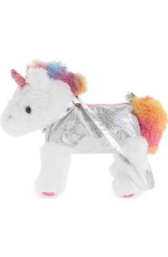 Capelli New York Magical Unicorn Shoulder Bag (Girls)  b4abe4eaab715