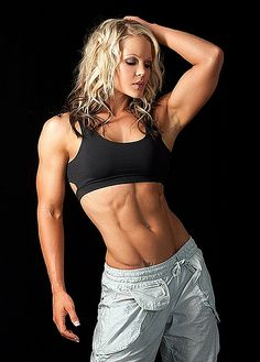 A picture of Nicole Wilkins. This site is a community effort to recognize the hard work of female athletes, fitness models, and bodybuilders. Bodybuilder, Nicole Wilkins, Nutrition Sportive, Hot Blonde Girls, Muscular Women, Muscle Girls, Bodybuilding Workouts, Muscle Fitness, Female Fitness