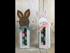 BJ's Stampin' Spot: Bunny Treat Boxes - sure to Delight!