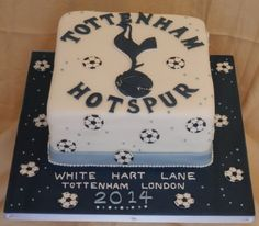 Tottenham Hotspur Cake......................................... Orders taken here at Crumbs of Joy OR Simple Email Us through our website ......... CHECK IT OUT https://www.facebook.com/BecclesCrumbsofJoy