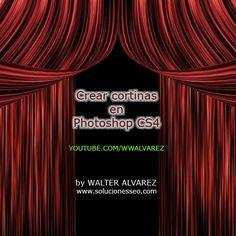 Tutorial Photoshop: Crear cortinas con Photoshop Cs4 | Photoshop y Tutoriales