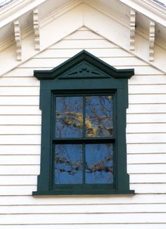 Great information about windows in historic houses.