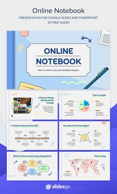 Use this online notebook for your classes! Download it as a Google Slides theme or a PowerPoint template Powerpoint Design Templates, Powerpoint Background Design, Powerpoint Themes, Math Lesson Plans, Lesson Plan Templates, Chemistry Lessons, Math Lessons, Slide Design, Web Design